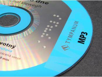 33c6adccd02e Potlač CD a DVD Braillovým písmom