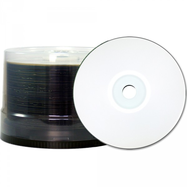 CD-R Taiyo Yuden / JVC 700 MB Water Shield White Printable NO ID, 102045