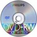 DVD-RW Philips 4,7 GB 2x